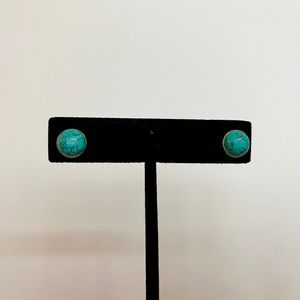 Sterling Silver and Turquoise Studs
